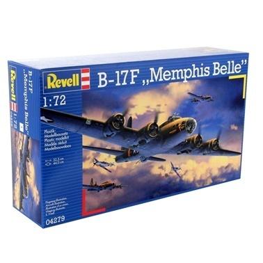 Revell Revell Maket 1:72 B-17F Memphis Belle  Renkli